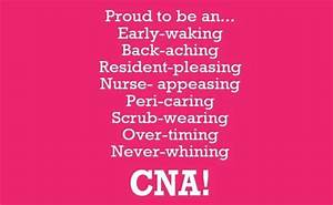 Pin on Proud to... Nursing Assistant Week Quotes