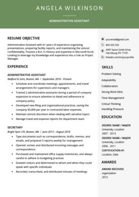 Professional Looking Resume Template by 40 Modern Resume Templates Free To Resume Genius
