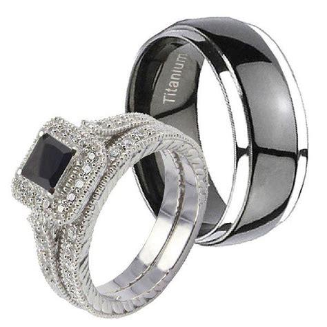 dome titanium ct sterling silver black