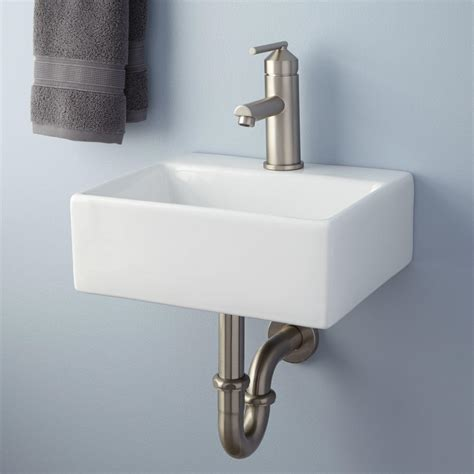 cassin double bowl wall bathroom sink bathroom