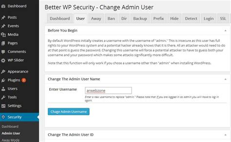 How To Change Wordpress Admin Login Url,username And Id In