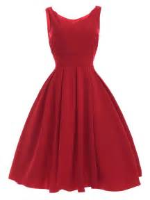 vintage sweetheart neck red pleated dress red xl in