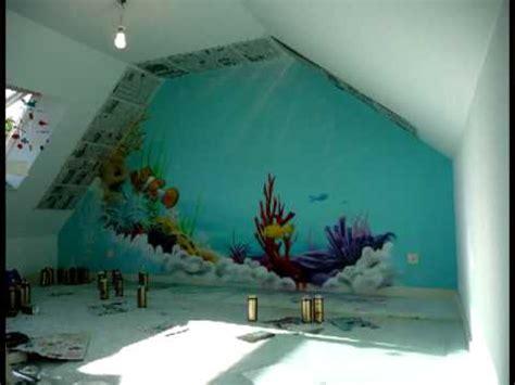 fresque murale chambre b aérosoleil fresque deco graff chambre d 39 enfant thème