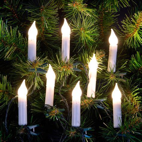 5 7m 18ft set of warm white candle led christmas tree