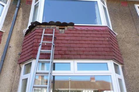 insulating vertical tiled bay