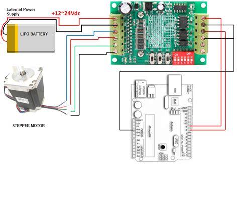 How Control Stepper Motor Using