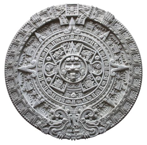 follow gashin aztec calendar nails