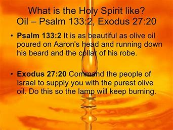 Image result for Olive Oil Holy Spirit