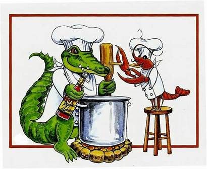 Boil Cajun Crawfish Clip Clipart Alligator Louisiana