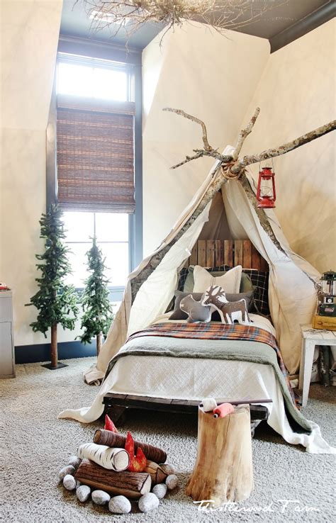 Nightmare Before Christmas Bedroom Design by Camping Bedroom On Pinterest Camping Room Fishing Room