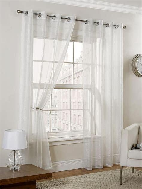 voile curtains ideas  pinterest
