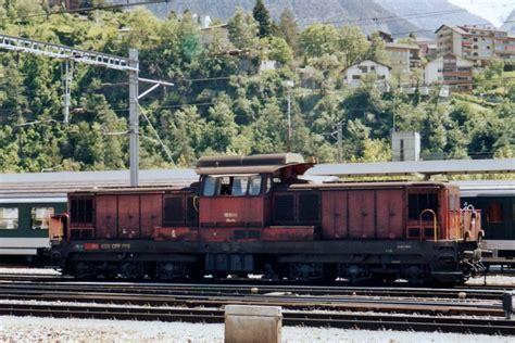 Sbb 18505 Steht Am 20 Juni 2001 In Chiasso.