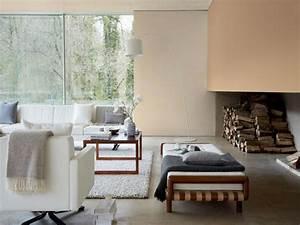 Peinture Moderne Salon : peinture salon moderne couleurs sombres accueil design et mobilier ~ Teatrodelosmanantiales.com Idées de Décoration