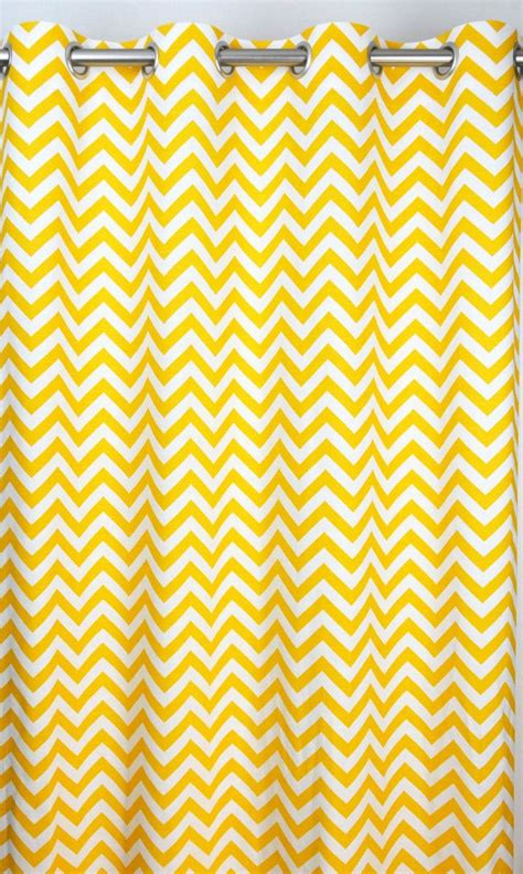 yellow and white chevron curtains 17 best ideas about yellow curtains on yellow