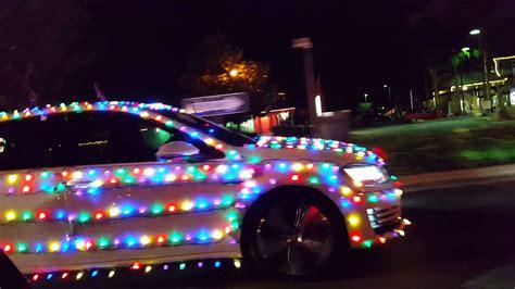 christmas lights on a car youtube