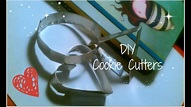 DIY Cookie Cutters - YouTube