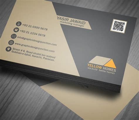 real estate business card templates  ai psd