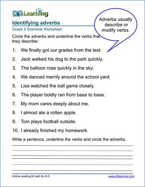 adverbs worksheets grade  sample adverbs worksheet
