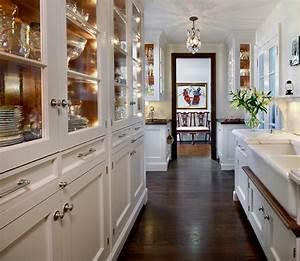 Galley Kitchen Transitional Kitchen O39Brien Harris