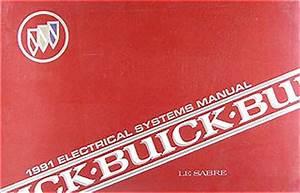 1991 Buick Lesabre Repair Shop Manual Original