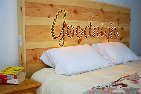 headboard lights south africa 25 cheap and chic diy headboard ideas