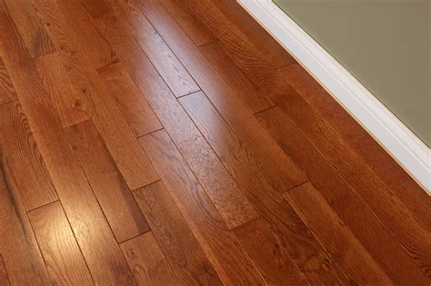 "Oak Gunstock 3/4 x 3 1/4""   Solid Hardwood Flooring"