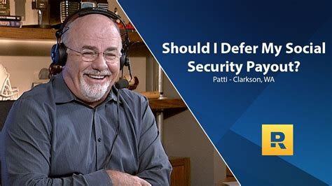 Not sure if you need term life insurance? Should I Defer My Social Security Payout?   Term life, Dave ramsey, Life insurance policy