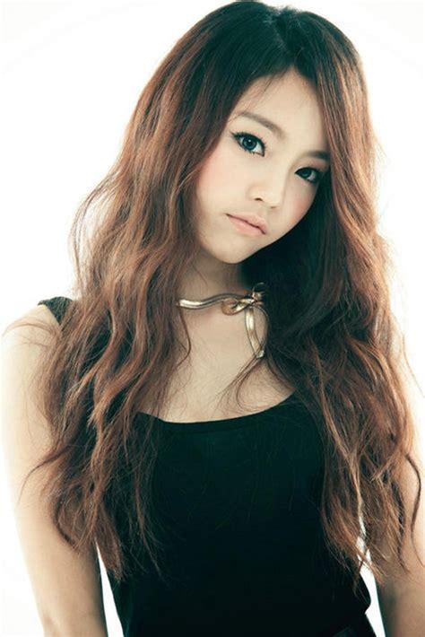 hairstyle  korean long haircut