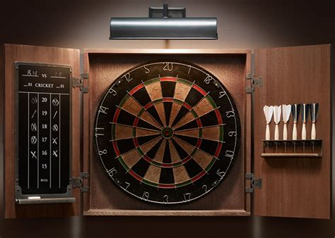 vintage tournament dartboard set hiconsumption