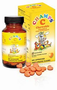 CHAMPS Chewable Vitamins for Kids - Mommy Practicality