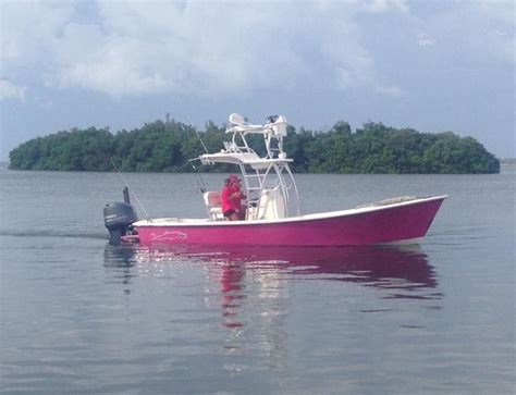 Boat Paint Miami by Gause Built Boat With Custom Pink Paint Scheme Boca