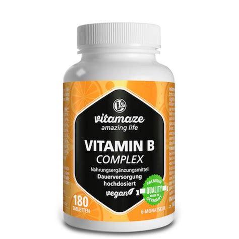 vitamin  complex hochdosiert vegan  st preisvergleich