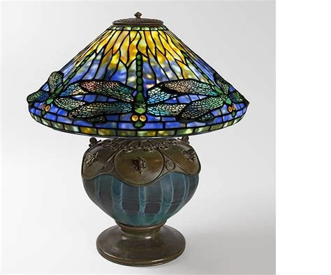 tiffany style dragonfly l tiffany studios quot dragonfly quot table l at 1stdibs