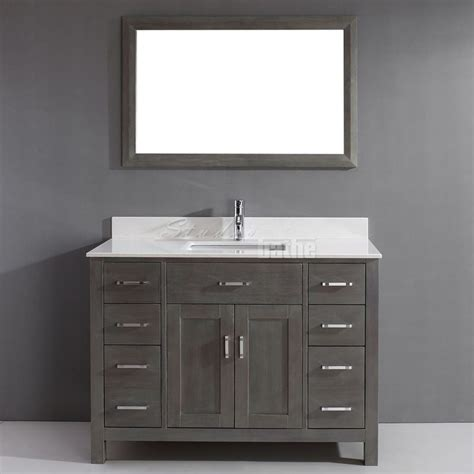 Distressed Bathroom Vanity Gray by Glazed Distressed Bathroom Vanity Started With Graphite