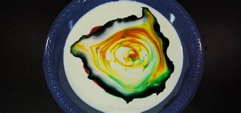 milk dish soap  food coloring   fun
