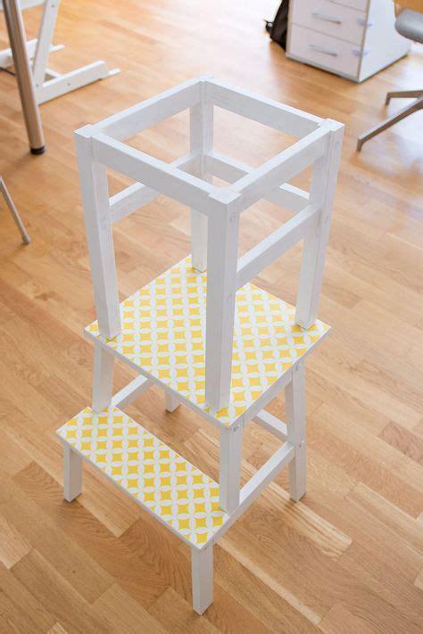 Kinder Küche Ikea by Lernturm Selber Bauen Ikea Hack Aus Zwei Hockern