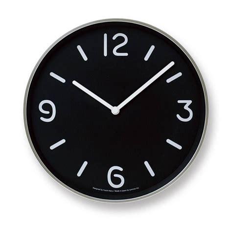 Lemnos round modern clock   Wilhelmina Designs