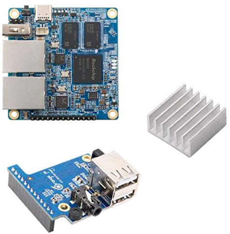 It has two gbps ethernet ports and 1g ddr4 ram. Tiny, dual GbE Orange Pi powers up with RK3328