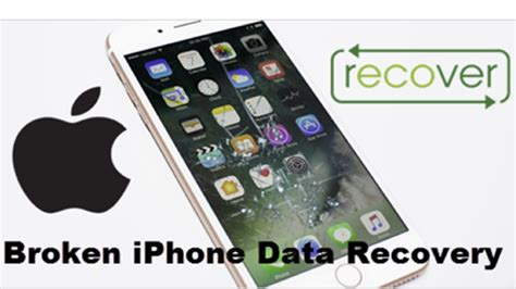 How To Recover Data From Broken Iphone