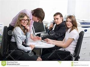 Young Business Team Stock Photo - Image: 19812780