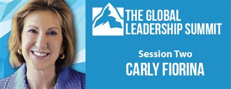 global leadership summit carly fiorina
