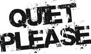 Please Keep Quiet