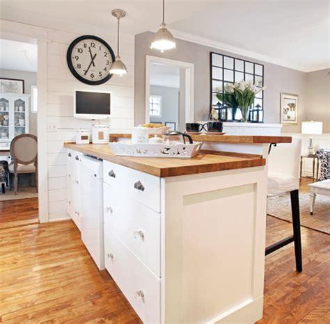 cuisine chic décoration cuisine salon air ouverte