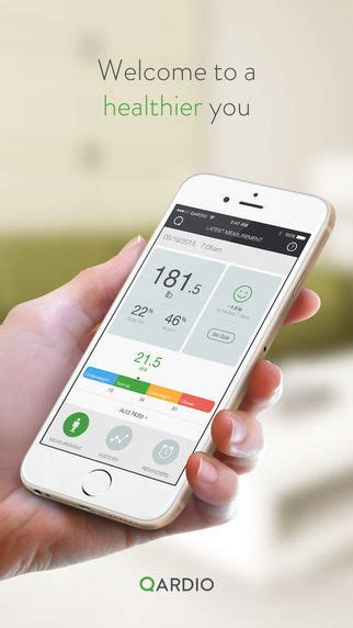 Blood Pressure-Monitoring Apps : QardioApp