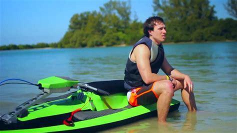 Small Boat Vs Jet Ski by Bomboard Thrilling Portable Watercraft