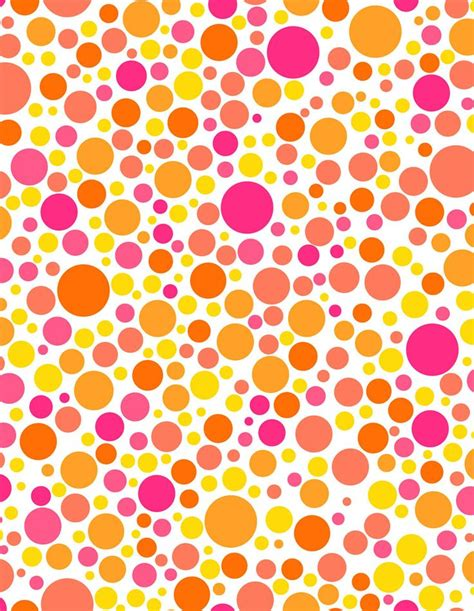 dots clipart orange pencil   color dots clipart orange