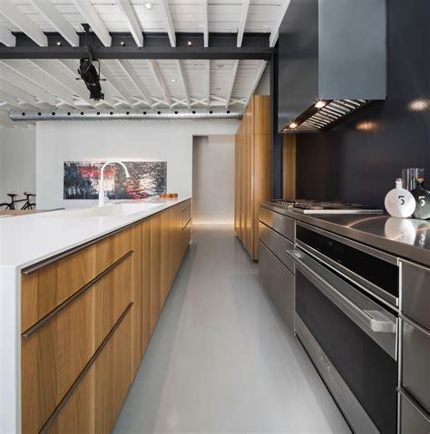 cuisine loft industriel rénovation d 39 un loft industriel design