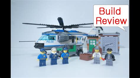Lego 60046 Police Helicopter Surveillance