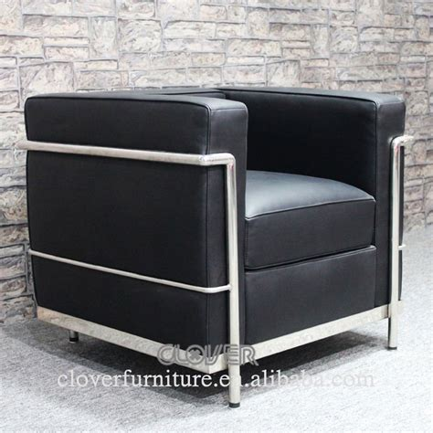 canap le corbusier lc2 lc2 chaise replica le corbusier lc2 canapé chaises de
