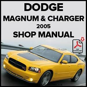 Dodge 2005 Charger  U0026 Magnum Shop Manual  U2013 Car Manuals Direct